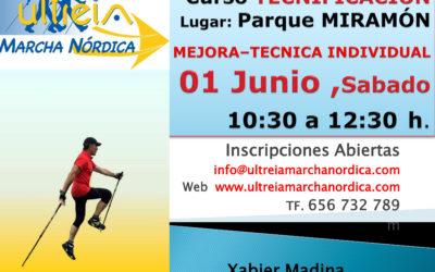 Curso TECNIFICACIÓN y RECICLAJE – 01 Junio 2.019