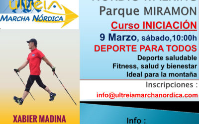 CURSO MARCHA NORDICA –  9 Marzo – Parque Miramón