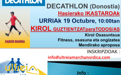 CURSO INICIACION en DECATHLON (Donostia)- 19 octubre