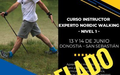 CURSO INSTRUCTOR – EXPERTO  NORDIC WALKING NIVEL 1 (13-14 Junio 2.020)