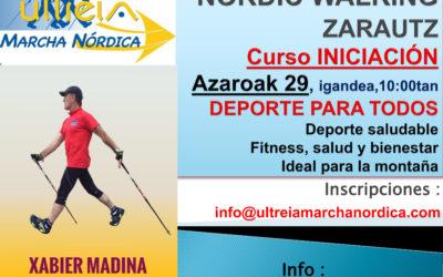 IKASTAROA  – NORDIC WALKING – AZAROAK 29 (ZARAUTZ)